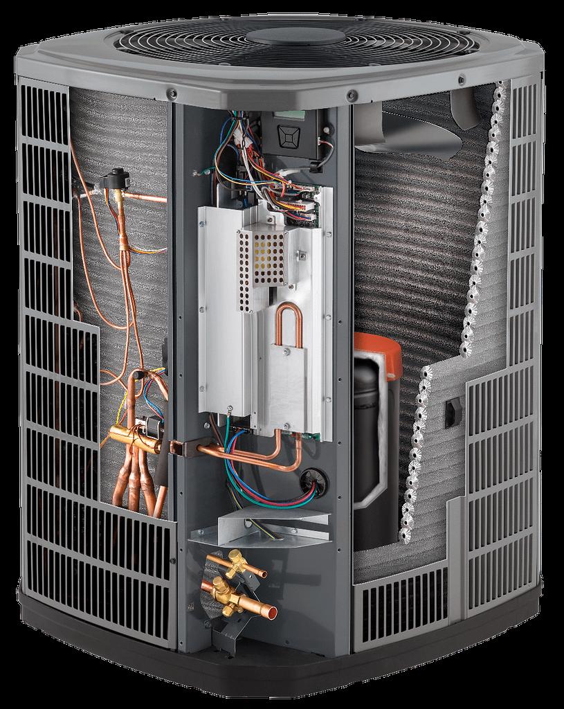 heating and air american standard platinum hvac insides